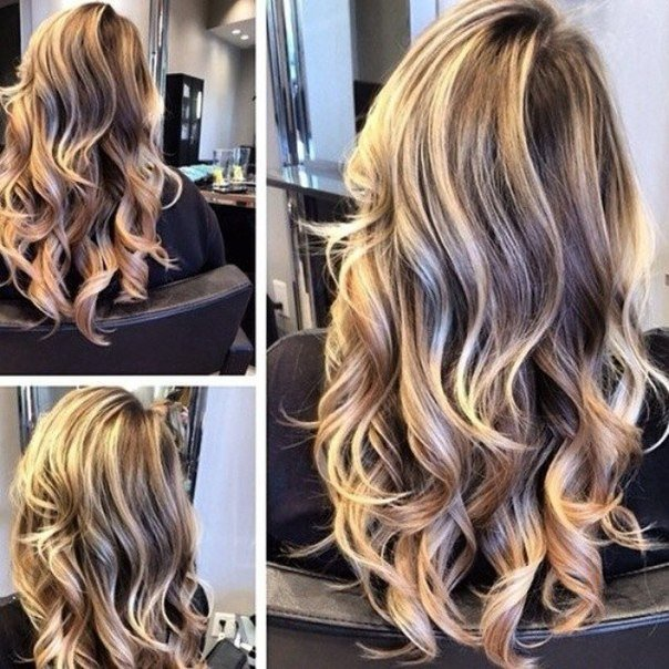 модное колорирование волос 2017, фото 1