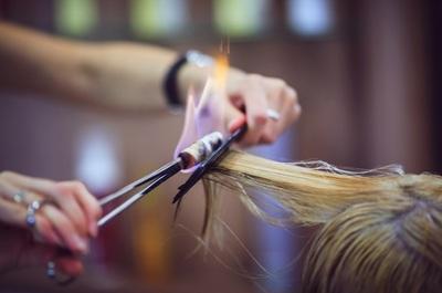 лечение волос огнем Fire Cut