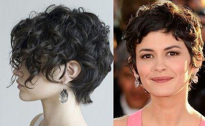 женские стрижки для вьющихся волос 2017