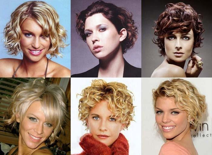 женские стрижки на вьющиеся волосы 2017, фото 2
