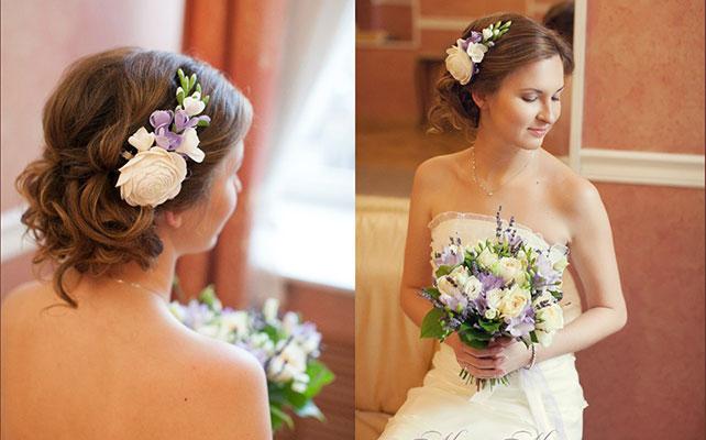 фото свадебных украшений для волос 2017 года 4