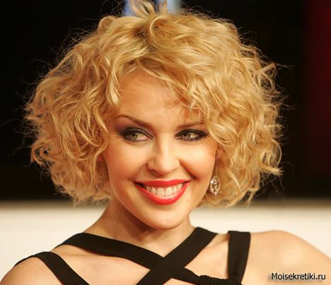 Женские стрижки для вьющихся волос