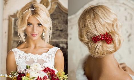 свадебные украшения для волос сезона весна-лето 2017
