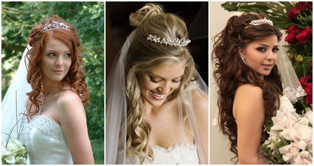 фото свадебных украшений для волос сезона весна-лето 2017 4