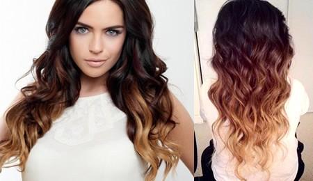 шатуш 2017 - эффект выгоревших волос