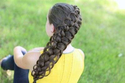 кружево из волос