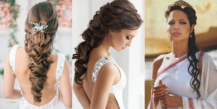 Прически на выпускной на длинные и средние волосы