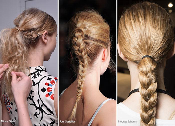 модные прически 2017 на длинные волосы