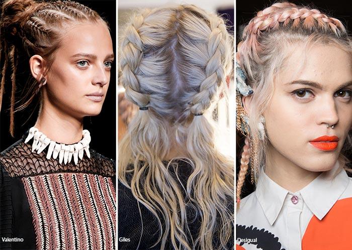 модные прически 2017 на волосы средней длины