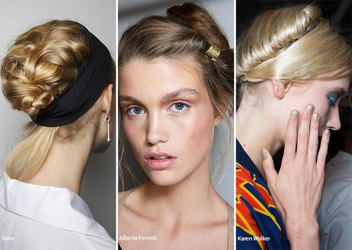 модные прически 2017 на волосы средней длины 2