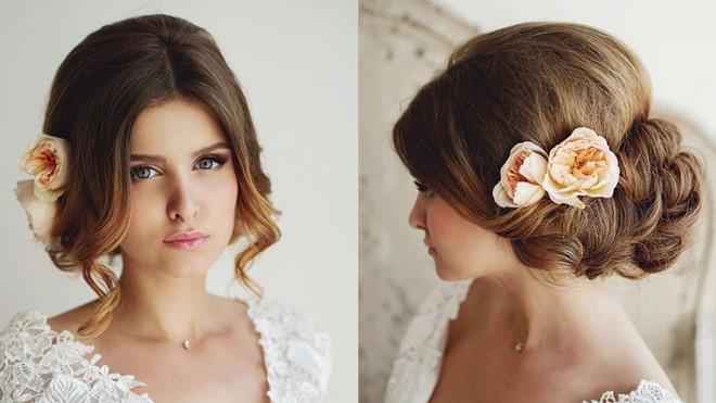 греческий свадебные прически сезона весна-лето 2017, фото 5