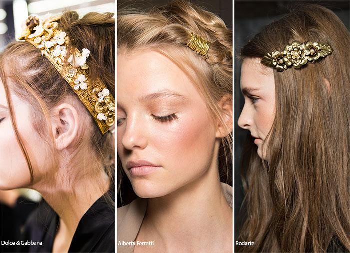 фото модных аксессуаров для волос 2017 года 1