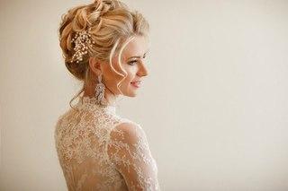 выбор свадебной прически в 2017 году