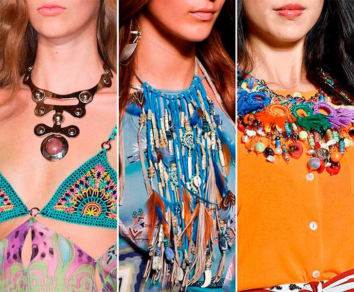 модные и красивые украшения для волос лето 2017, фото