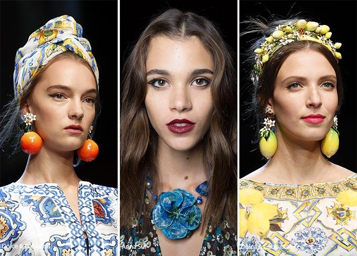 модные и красивые украшения для волос лето 2017, фото 3