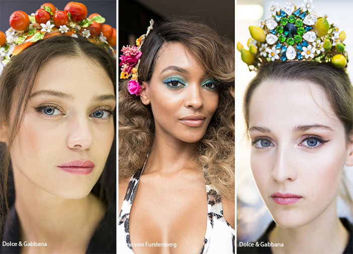 модные и красивые украшения для волос лето 2017, фото 5