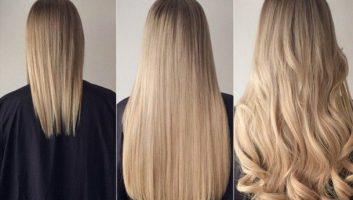 наращивание волос 2017, от чего зависит