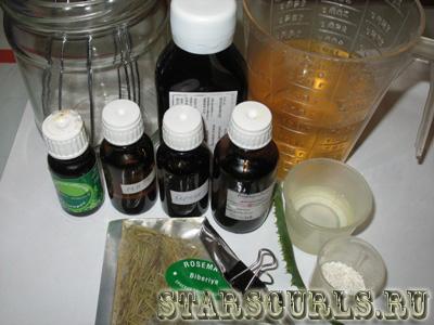 шампунь из основы для жирных волос 1