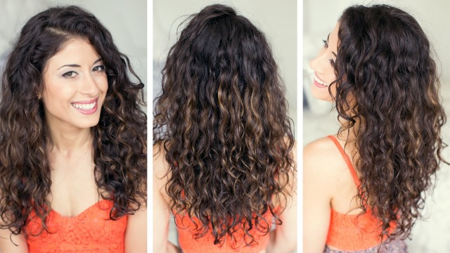 как сделать волосы кудрявыми, фото