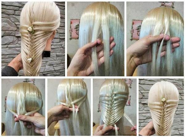 коса объемный дракончик
