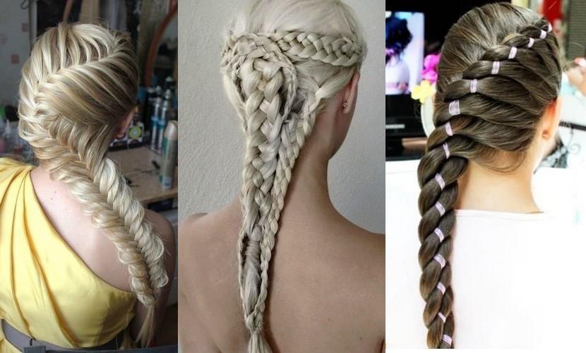 фото причесок на длинные волосы косы