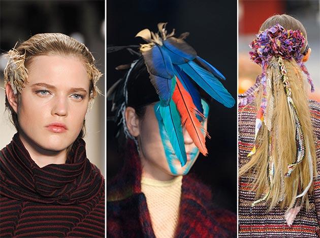 зимние аксессуары (украшения), модные тенденции 2017-2018 года на фото 1