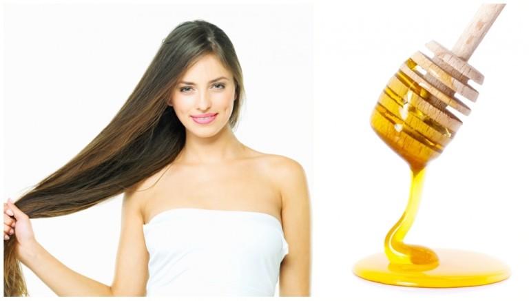 методика осветления волос медом