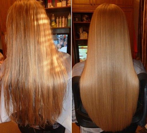 ламинирование волос желатином, преимущества