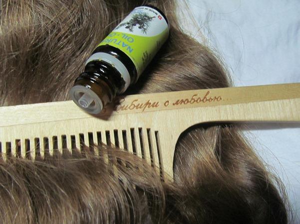 масло можжевельника для волос, варианты использования