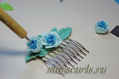 мастер-класс по изготовлению гребня для волос, пошагово на фото 12