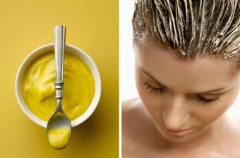 горчичные маски для сухих волос, рецепты