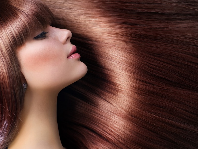 как сделать волосы темнее без окрашивания 2