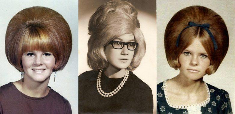 другие прически в стиле 60-х 1