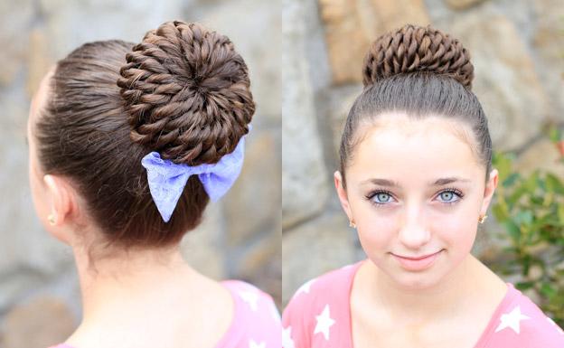 детские прически для девочек на длинные волосы 5