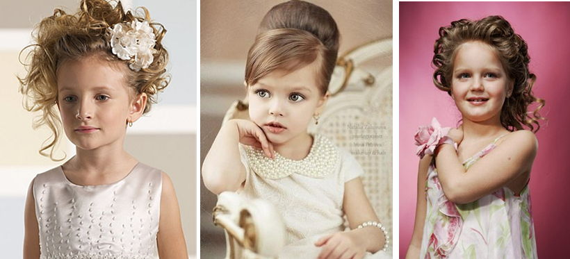 детские прически для девочек на длинные волосы 6