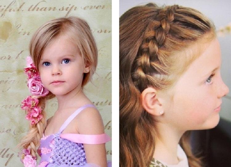 Модная причёска для девочек