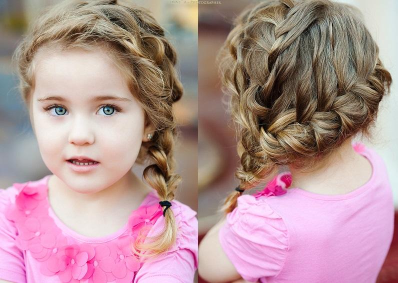 фото модных и красивых стрижек и причесок для девочек и мальчиков 3