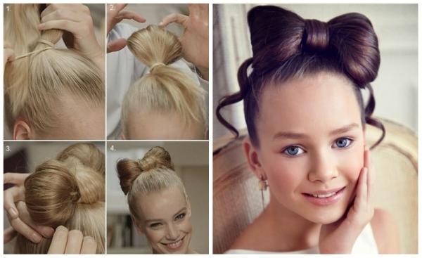 фото модных и красивых стрижек и причесок для девочек и мальчиков 5