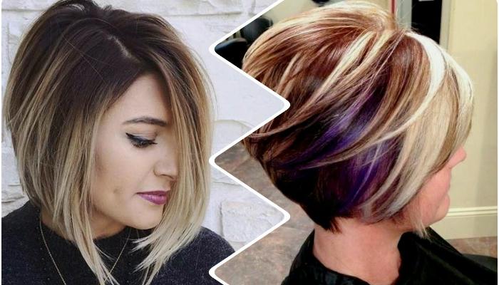 цвет волос в сочетании со стрижкой боб 1
