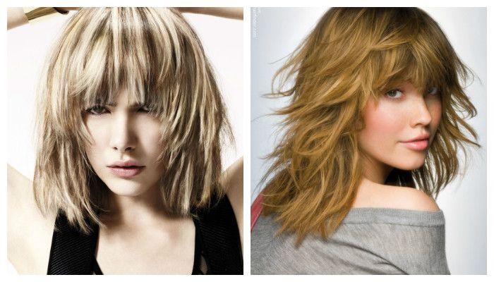 стрижка лесенка на средние волосы весна-лето 2017: модные тренды и новинки, фото 1