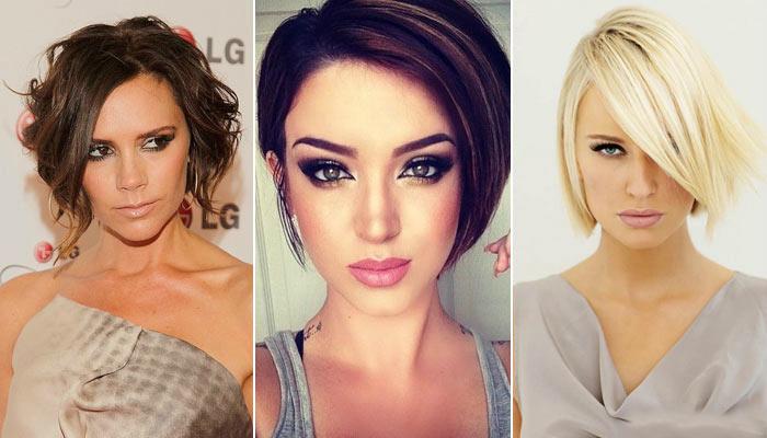 Стильные стрижки на короткие волосы 2017 женские на овальное лицо