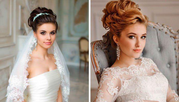 красивые и модные свадебные прически весна-лето 2017