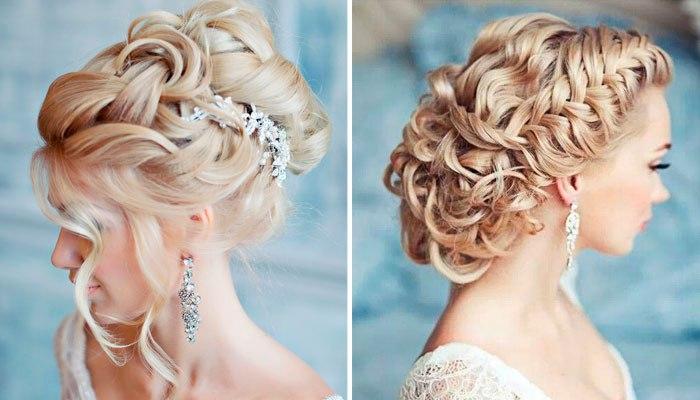 модные свадебные прически с косичками, плетениями и косами весна-лето 2017 1