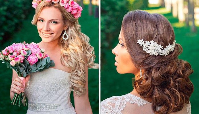 красивые и модные свадебные прически весна-лето 2017, тенденции на фото 3