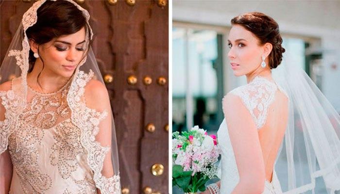 красивые и модные свадебные прически весна-лето 2017, тенденции на фото 6