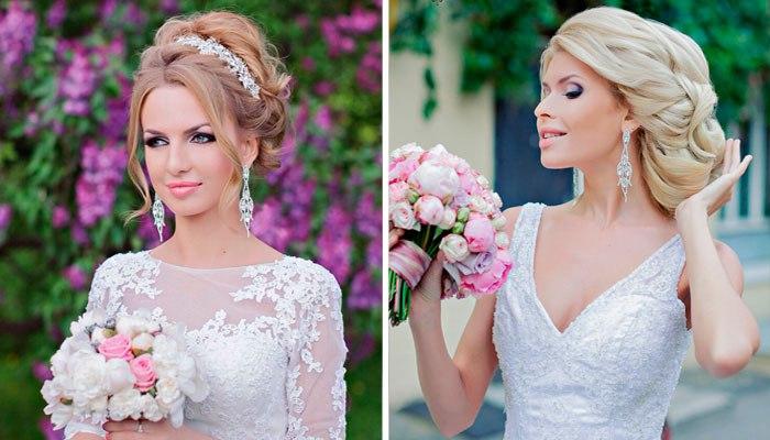 модные свадебные пучки весна-лето 2017 1