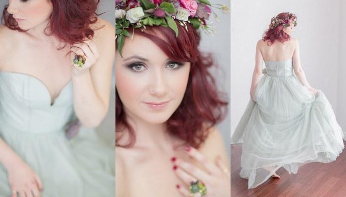 модные свадебные прически весна-лето 2017 в стиле ретро 1