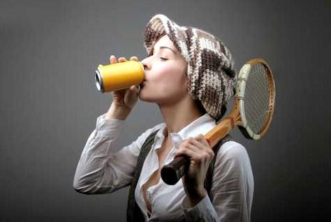 Влияние энергетических напитков