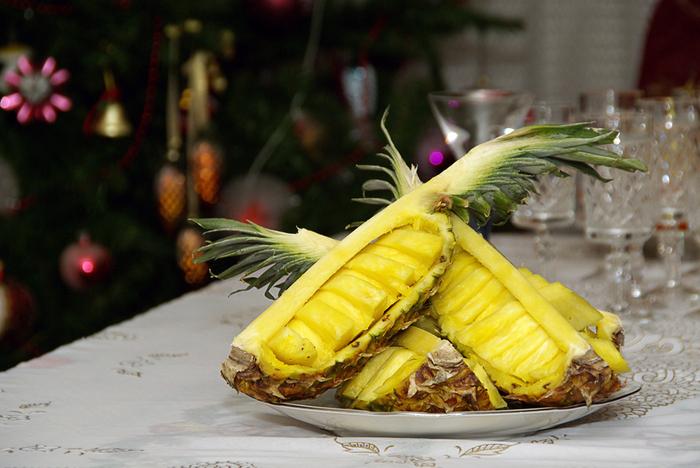 Польза ананаса и банана