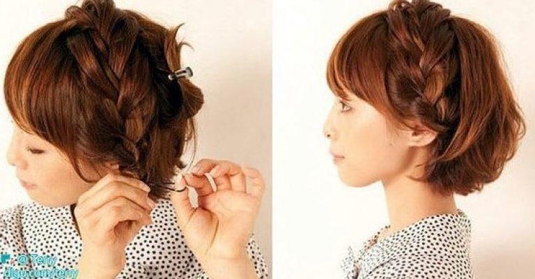 Прически в домашних условиях для волос короткой длины